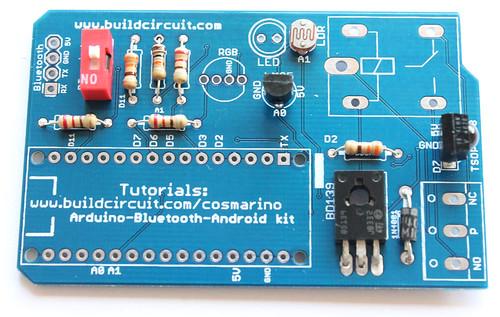 Step 8- Solder 1P DIP switch