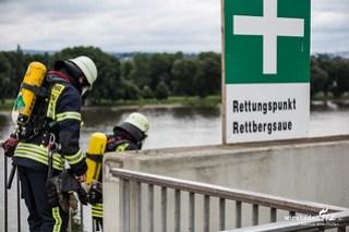 "Großübung ""Vater Rhein"" - Brand 20.06.15"
