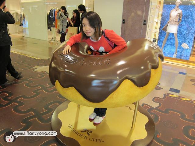 Giant Chocolate donut