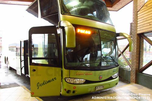 Tur Bus - Pucón - Marcopolo Paradiso 1800 DD / Mercedes Benz (CKPZ24)