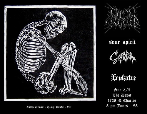 Coffin Birth at the Depot