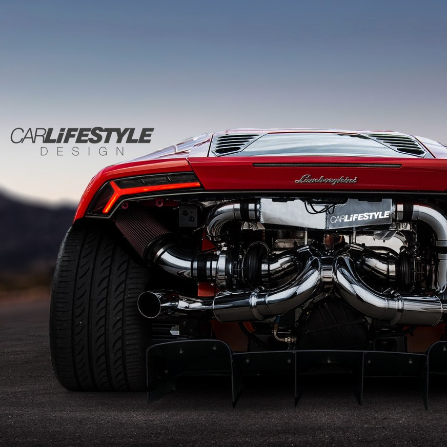 Widebody Twin Turbo Huracan | Designed by @CarLifestyle on ...