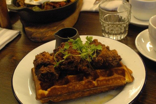 Hotbox London Chicken Waffles