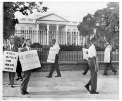 Sit-In Vets Demand Civil Rights Legislation: 1960