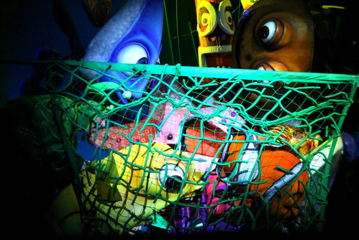 Finding Nemo the Musical Animal Kingdom Oct 2016 31