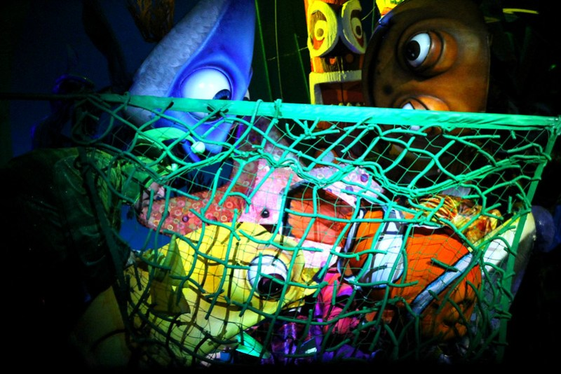 Finding Nemo the Musical Animal Kingdom Oct 2016 31