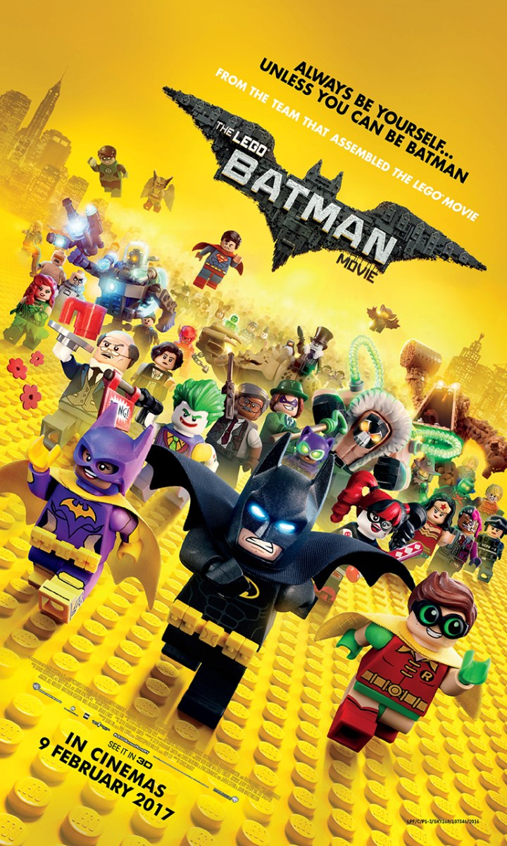 Peraduan Premiere With Budiey Filem THE LEGO® BATMAN MOVIE