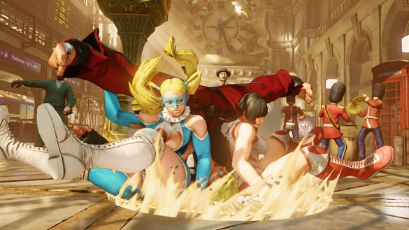 Street Fighter 5 - R. Mika Critical Art