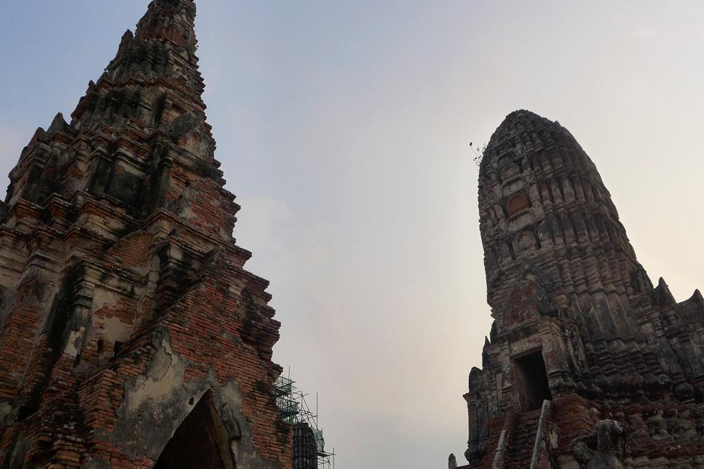 Thaïlande - Ayutthaya - 155 - Wat Chaiwatthanaram