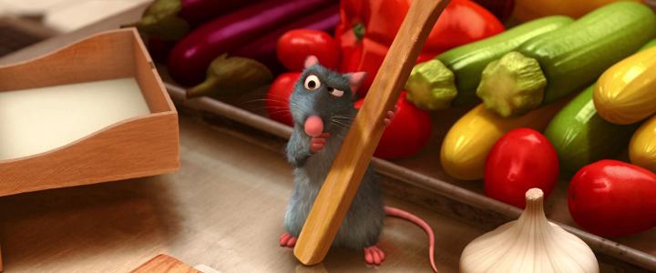 Pixar-perjantai: Rottatuille - Disnerd dreams