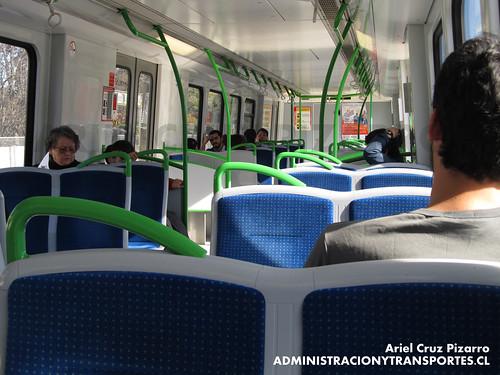 Metro Valparaíso - Alstom Xtrapolis 100 XT16 Interior