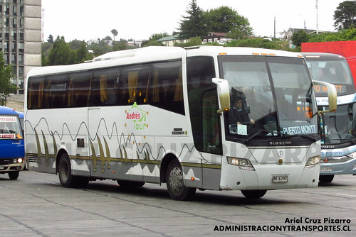 Andrés Tour - Puerto Montt - Busscar Vissta Buss Elegance 360 / Mercedes Benz (BKVJ57)