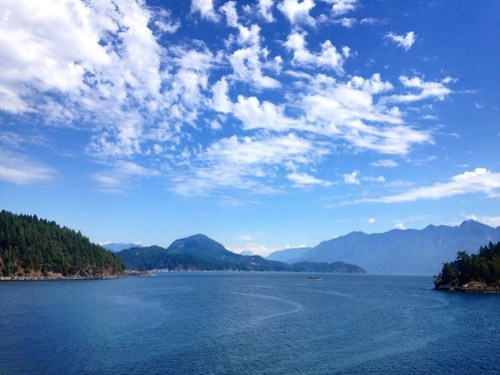 Summer on Bowen Island
