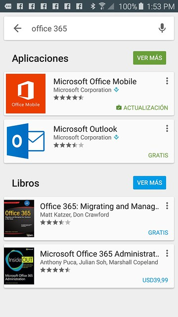 Office 365 para Android 2
