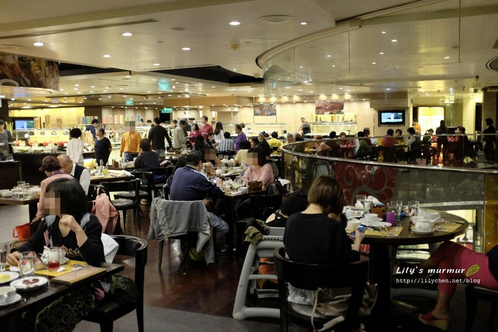 現在的遠東Café餐廳一景