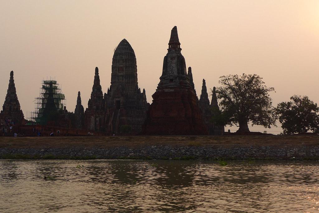 Thaïlande - Ayutthaya - 149 - Wat Chaiwatthanaram