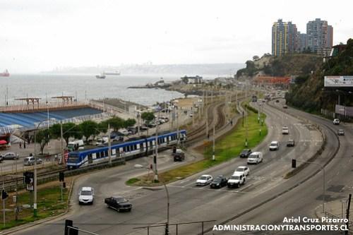 Metro Valparaíso - Portales - Alstom Xtrapolis 100