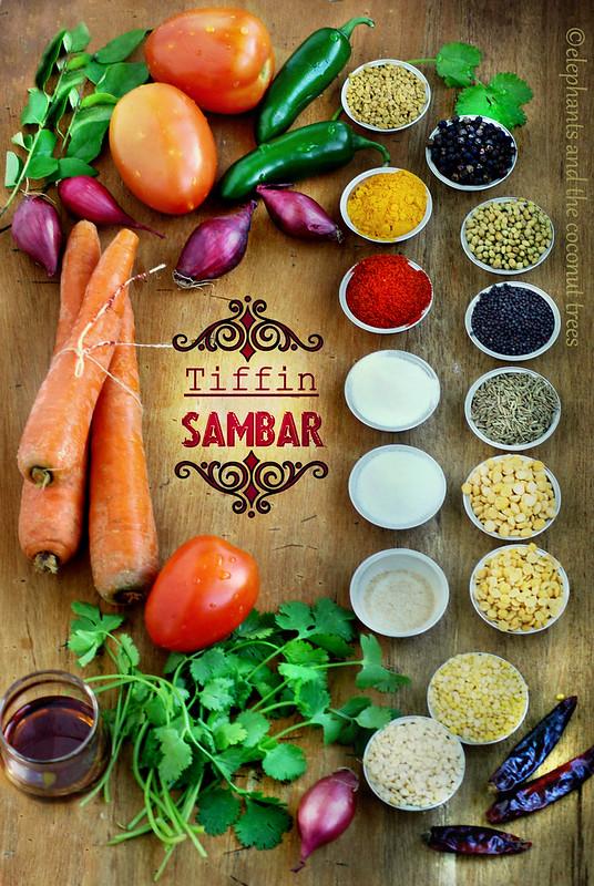 Tiffin sambar- traditional South Indian cuisine
