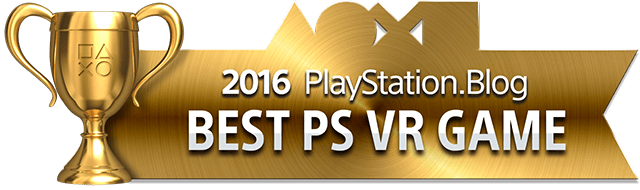 Best PlayStation VR Game - Gold