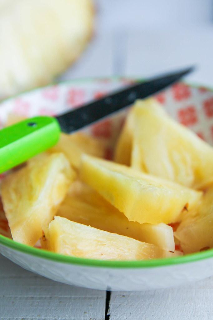 Tempeh ananas