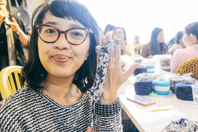 Knitting Workshop at Bazart