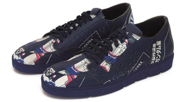 Galaxy print sneakers