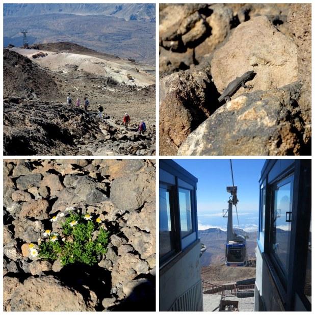 Descenso pico Teide