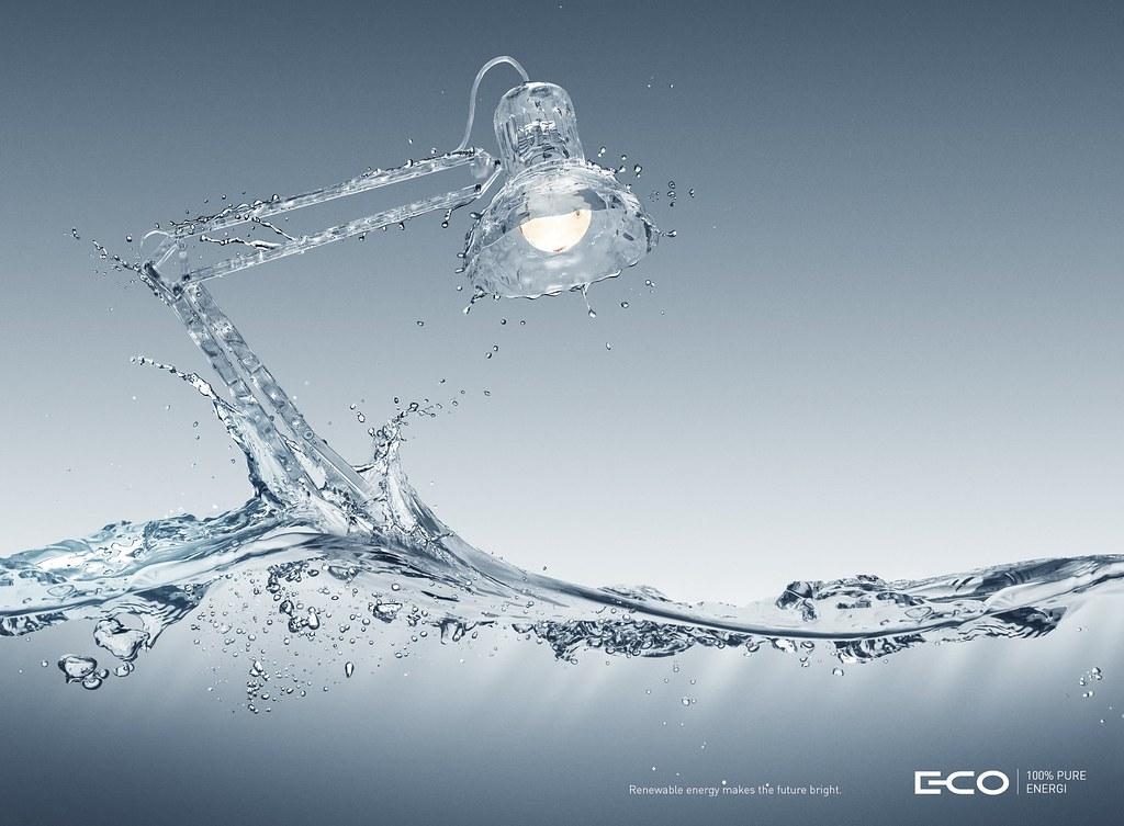 E-Co - 100% pure energy Lamp
