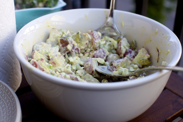 roseanne cash's potato salad