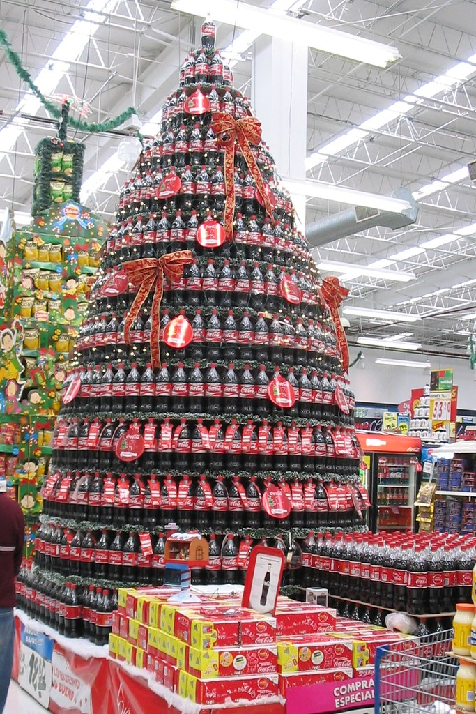 Coca Cola In Mexican WalMart This Thing Is Big They