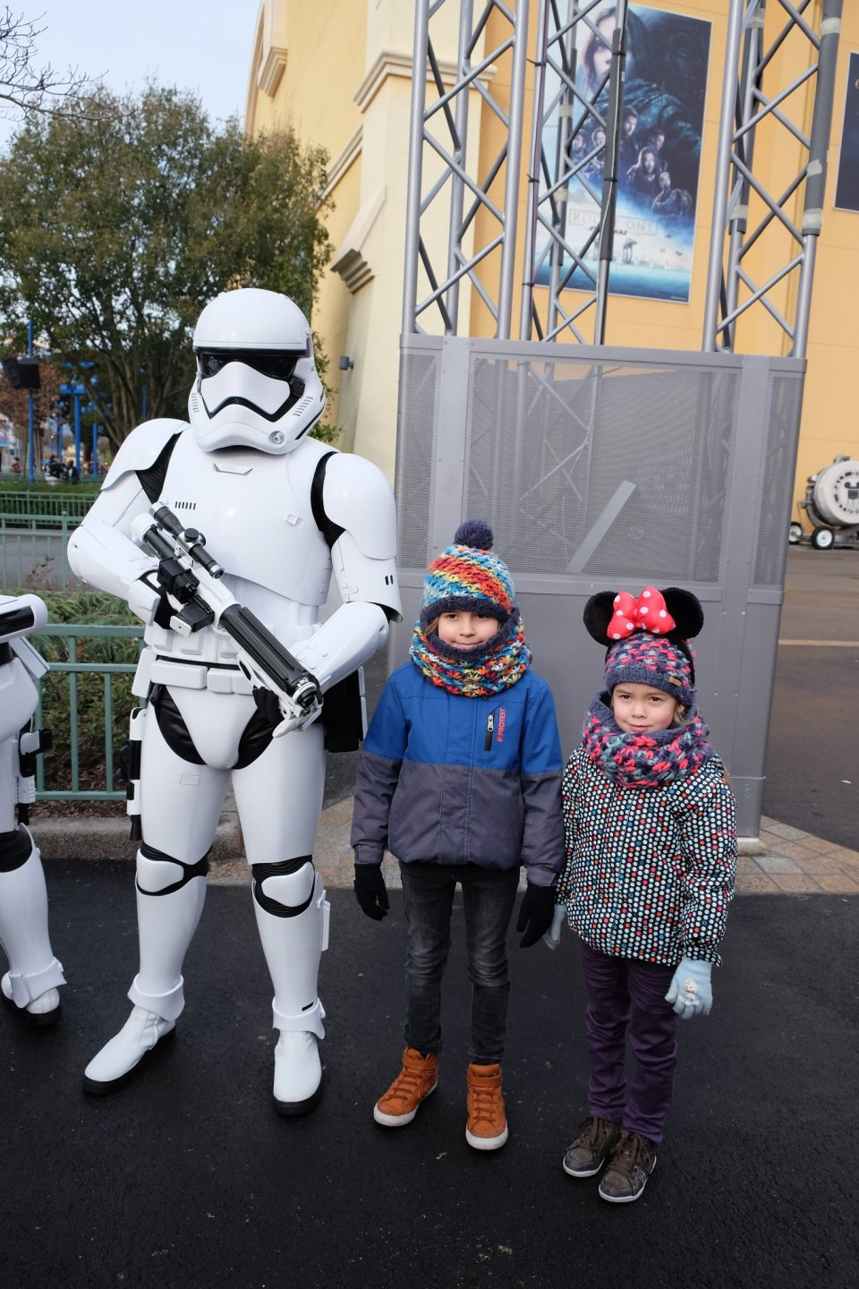 Disneyland Face the Force