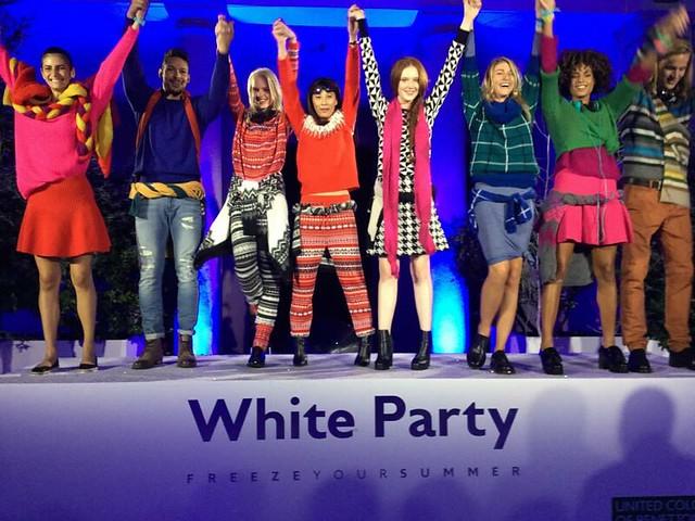 BENETTON WHITE PARTY