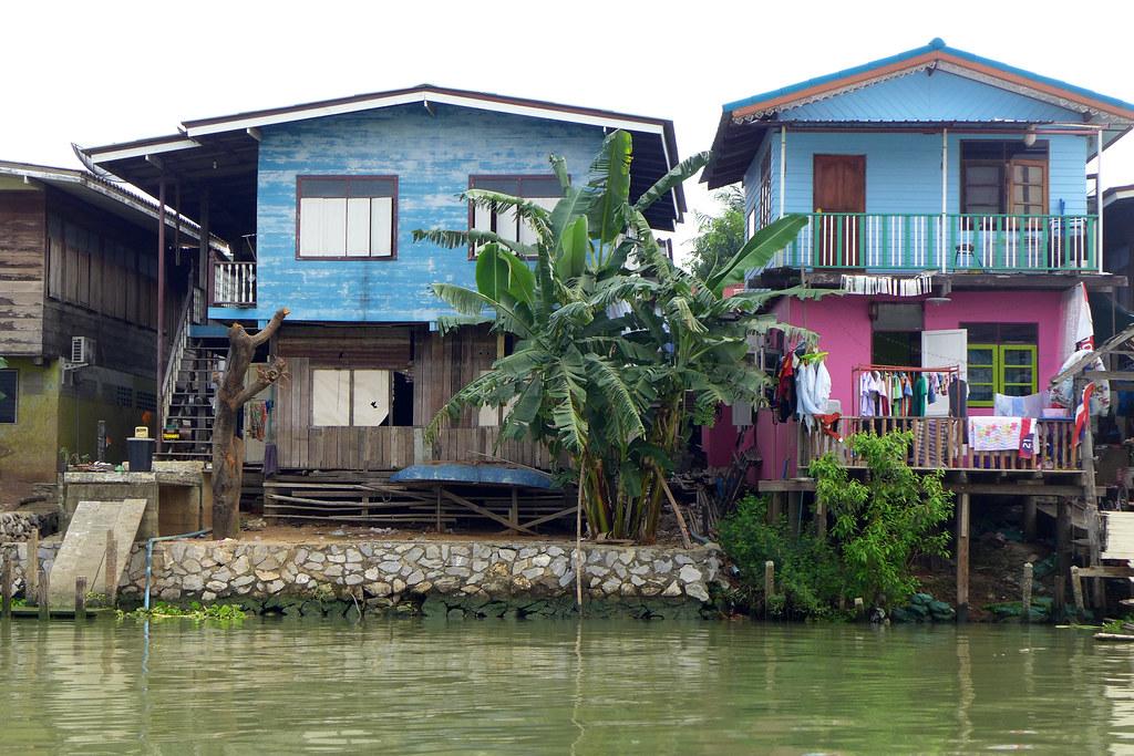 Thaïlande - Ayutthaya - 122 - Sur la Chao Phraya