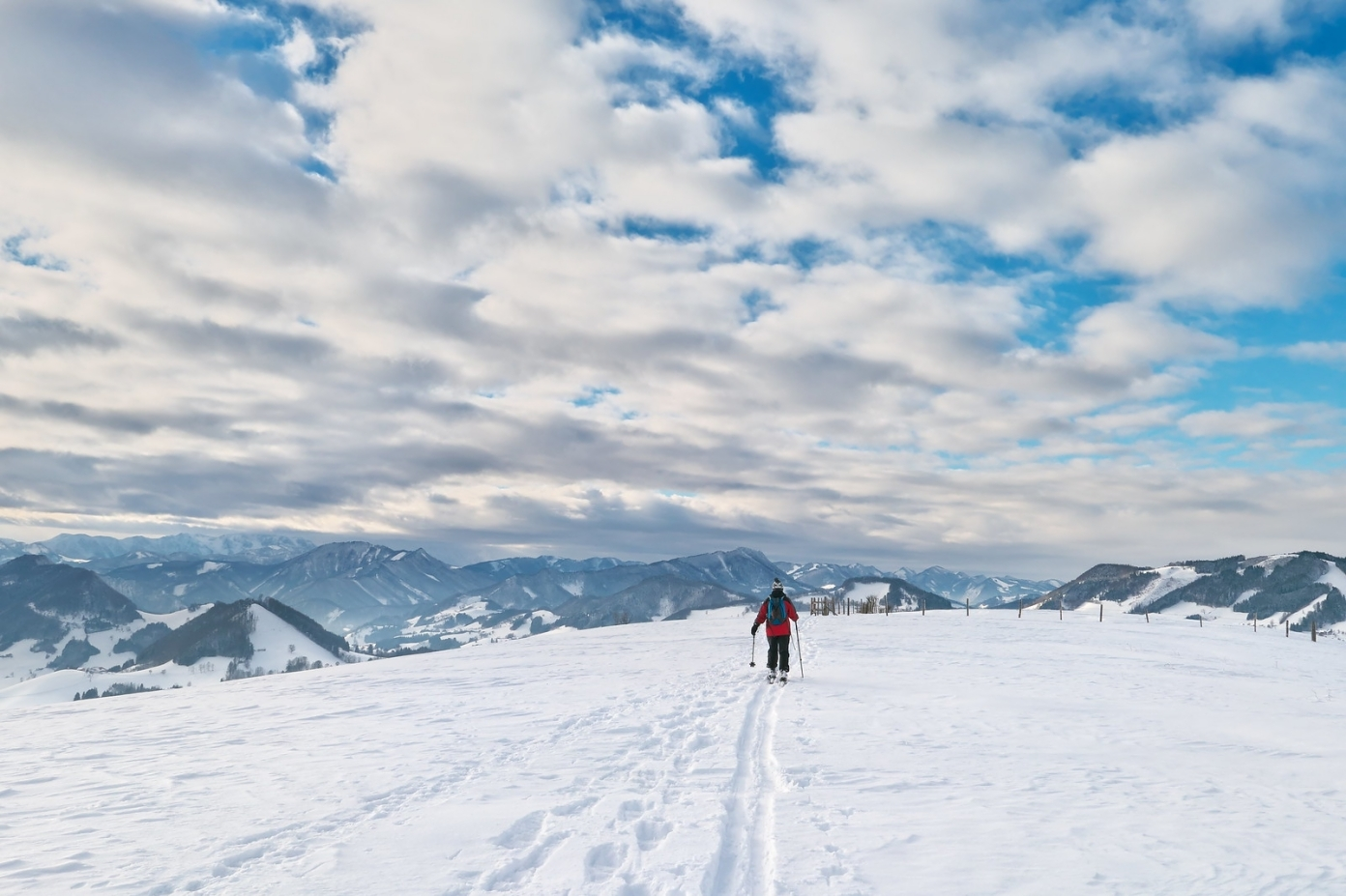 Rozhled až k Totes Gebirge