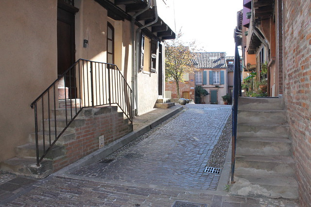 Calles repletas de encanto en Albi