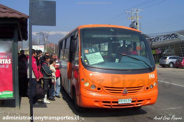 Transantiago C08 | Redbus | Neobus Thunder - Agrale / VX9534