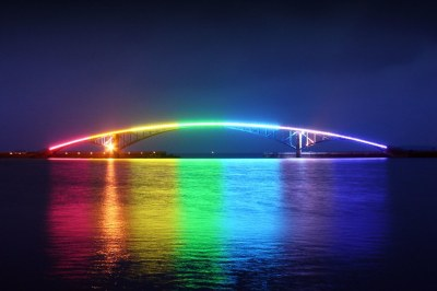 Night Rainbow of Penhu Island | This is a bridge cross the ...