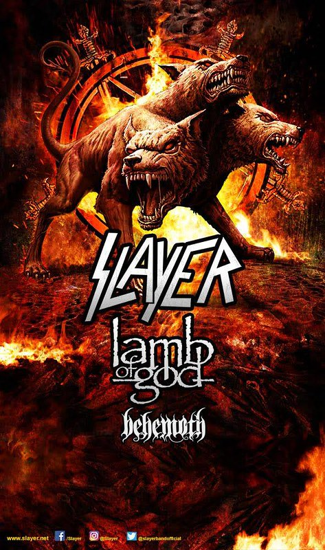 Slayer at Pier Six Pavilion