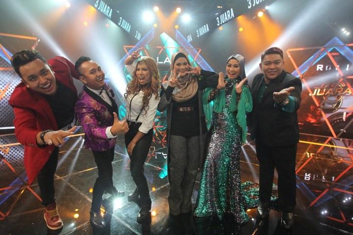 Saingan Sengit & Ujian Getir Enam Finalis Konsert Akhir 3 JUARA