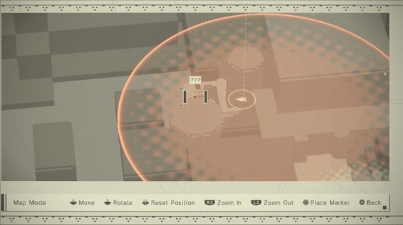 Nier Automata - Factory Map