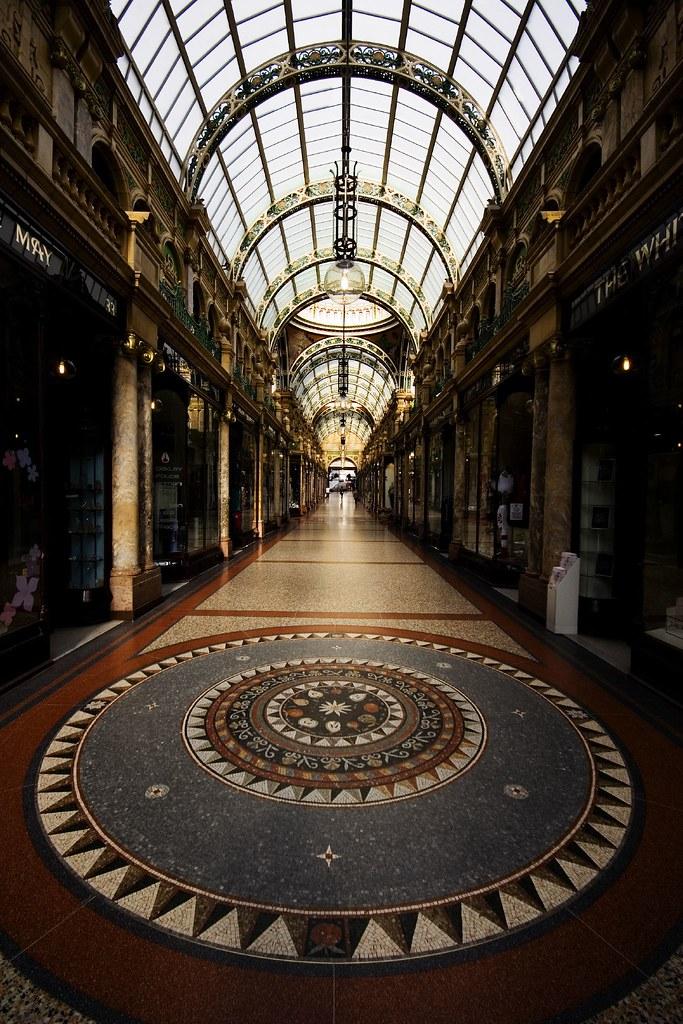 County Arcade Victoria Quarter Leeds One Of Leeds