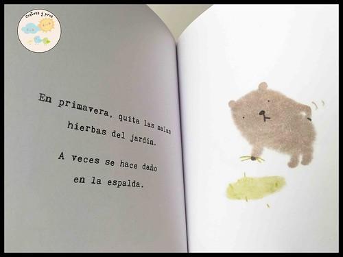 Reseña libro El osito Kuma Kuma
