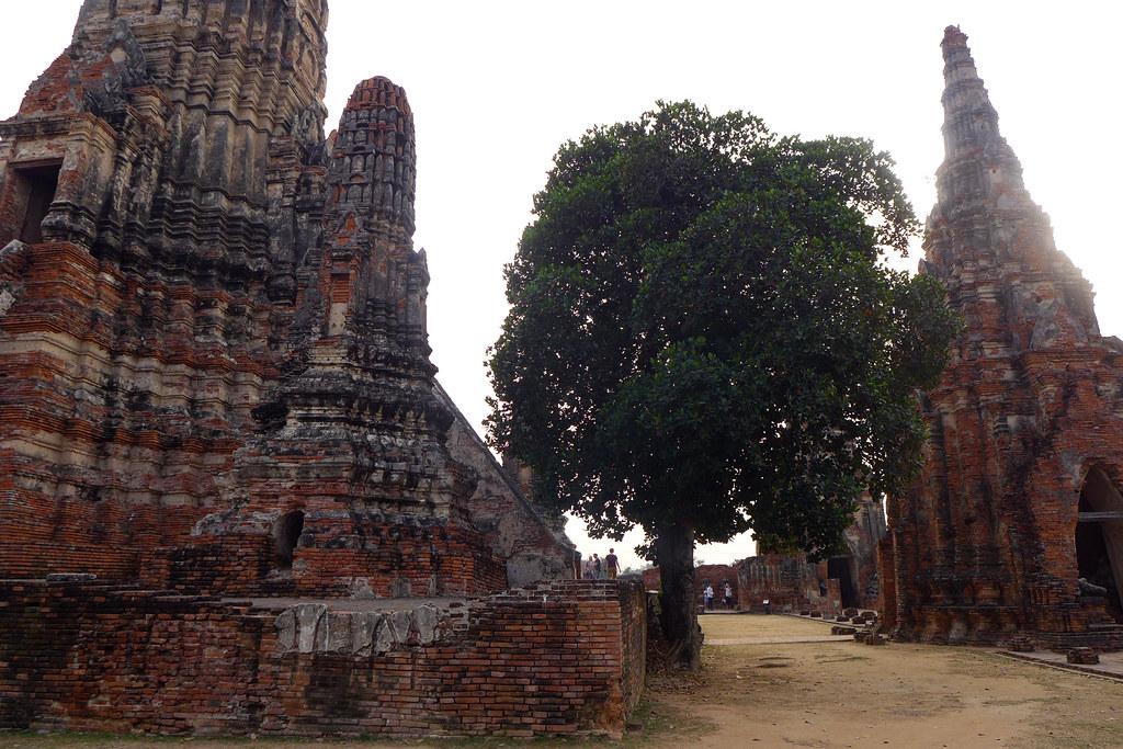 Thaïlande - Ayutthaya - 158 - Wat Chaiwatthanaram