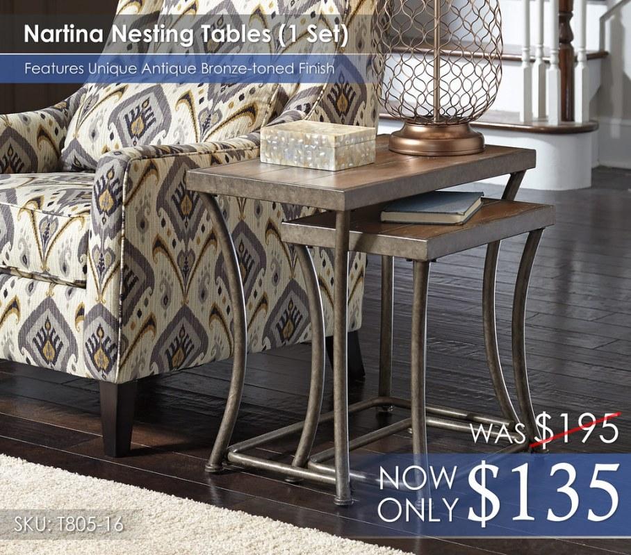 Nartina Nesting Tables T805-16