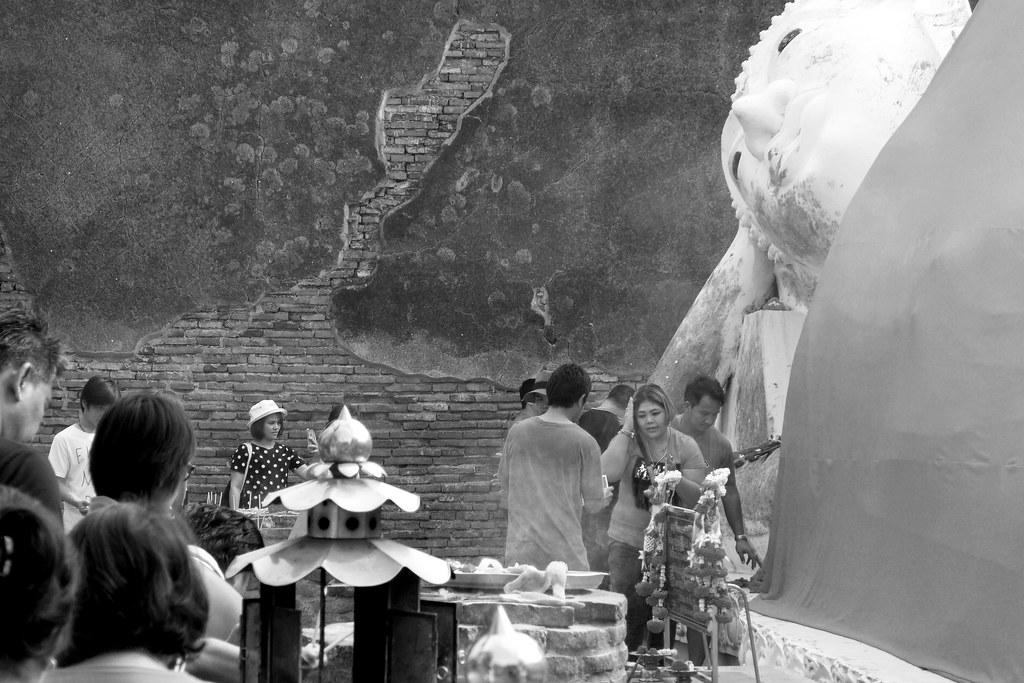 Thaïlande - Ayutthaya - 188 - Wat Yai Chai Mongkhon