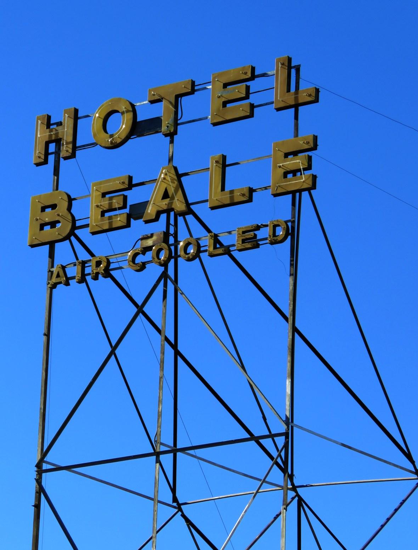 Hotel Beale - 325 East Andy Devine Avenue, Kingman, Arizona U.S.A. - November 9, 2015
