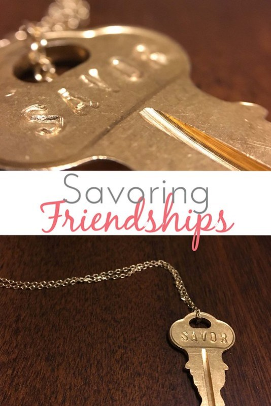 Savoring Friendships