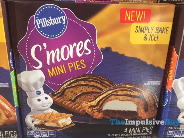 Pillsbury S'mores Mini Pies