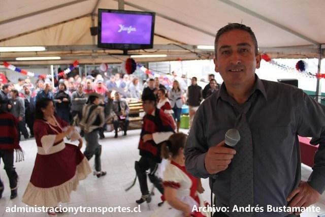 Andrés Bustamante Subus locución