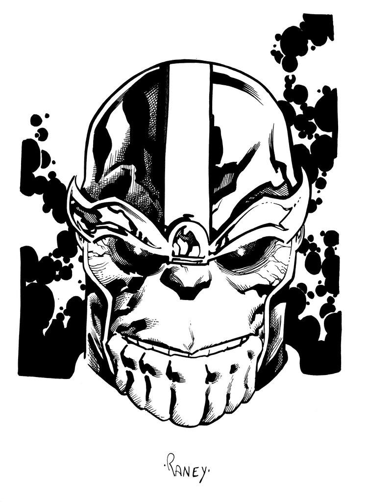 Thanos Sketch Tom Raney CG76 Flickr